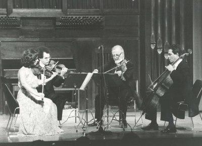 Cuarteto Hispánico Numen. Concierto La escuela de Viena