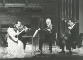 Cuarteto Hispánico Numen. Concierto La escuela de Viena , 1983