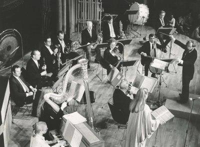 Ensemble Die Reihe. Concierto La escuela de Viena