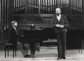 Fernando Turina y Manuel Cid. Recitales para Jóvenes, 1983