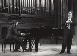 Josep Colom y Adolfo Garcés-Sauri. Recitales para Jóvenes, 1983