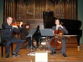 Juan Carlos Garvayo, José Miguel Gómez, Trío Arbós y Miguel Borrego. Concierto Décimo aniversario del Trío Arbós - Aula de (Re)estrenos (56) , 2006