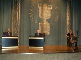 Hermann Danuser, Cristóbal Halffter y Beate Altenburg. Concierto Cristóbal Halffter en diálogo con Hermann Danuser - Aula de (Re)estrenos (75) , 2009