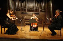 Mariana Todorova, Suzana Stefanovic y David Quiggle. Concierto Generación Guerrero. In memoriam - Aula de (Re)estrenos (81) , 2011