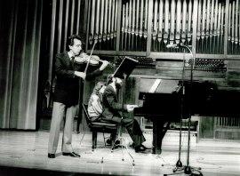 Manuel Villuendas y Josep Colom. Concierto Mozart: ciclo de sonatas para violín y piano , 1984