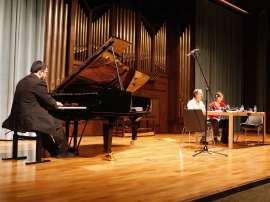 Federico Lechner, Fernando Palacios y Eva Sandoval. Concierto Después de Stalin: música en la URSS, 1960-1990 , 2008