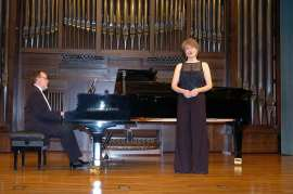 Antón Cardó y Elena Gragera. Concierto Ernesto Halffter en su centenario , 2005