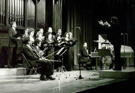 Grupo Monteverdi y Mariano Alfonso. Concierto Monteverdi , 1984