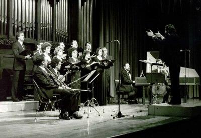 Grupo Monteverdi y Mariano Alfonso. Concierto Monteverdi
