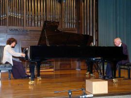 Dúo Uriarte-Mrongovius, Karl-Hermann Mrongovius y Begoña Uriarte. Concierto Mozart despues de Mozart , 2006