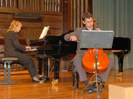 Paul Friedhoff y Patricia Barton. Concierto Música de cámara norteamericana , 2006