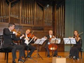 Cuarteto de Cuerda Penderecki, Jeremy Bell, Jerzy Kaplanek, Christine Vlajk y Simon Fryer. Concierto Música de cámara norteamericana , 2006