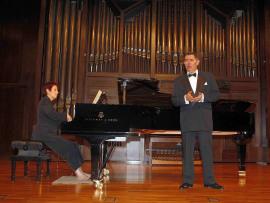 Iñaki Fresán y Eulalia Solé. Concierto Del romanticismo a la abstracción , 2007