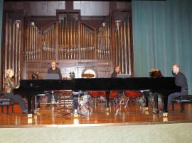 Ana Guijarro, Juanjo Guillem, Juanjo Rubio y Sebastián Mariné. Concierto Bartók, música de cámara , 2007