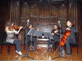 Joaquín Torre, Lina Tur Bonet, Iagoba Fanlo y Manuel Román. Concierto Cuartetos neoclásicos españoles , 2007