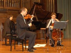 Trío Arbós. Concierto Música nórdica. En el centenario de Edvard Grieg, 2007