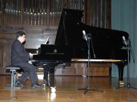 Manuel Escalante. Concierto Operistas en el salón , 2008