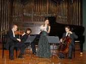 Trío Arbós, Juan Carlos Garvayo, Miguel Borrego, José Miguel Gómez y Sonia de Munck. Concierto Después de Stalin: música en la URSS, 1960-1990 , 2008
