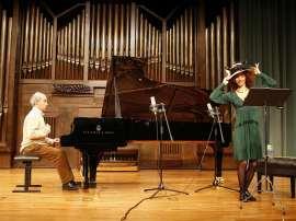 Miguel Ituarte y Teresa García Villuendas. Concierto Un Albéniz menos conocido , 2009
