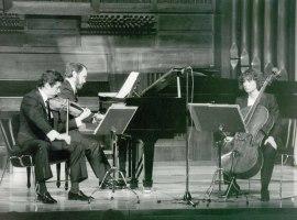 Trío Mompou. Concierto Música de cámara de la Generación de los Maestros , 1984