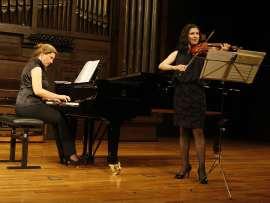 Amalia Zipitria y Ane Matxain Galdós. Concierto Componer bajo el tercer Reich , 2010