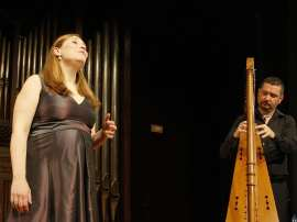 Marta Infante y Manuel Vilas. Concierto Vaya de letra y de baile - Las músicas de Calderón de la Barca , 2011