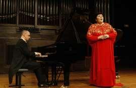 Ana María Sánchez y Alejandro Zabala. Concierto La relación con España - El universo musical de Alejo Carpentier , 2012
