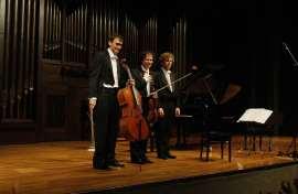 Intémpore Piano Trio, Rubén Darío Reina, Cameron Roberts y Javier Albarés. Concierto El alma cubana - El universo musical de Alejo Carpentier , 2012