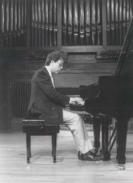 Agustín Serrano. Recitales para Jóvenes, 1984