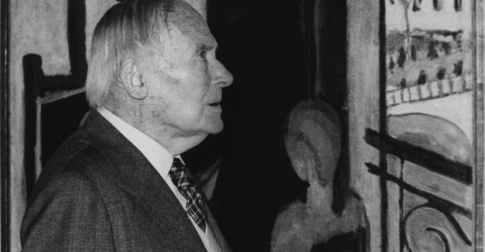 Joan Miró. Exhibition Henri Matisse Óleos, dibujos, gouaches découpées, esculturas y libros
