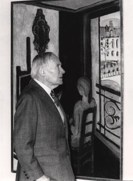 Joan Miró. Exposición Henri Matisse Óleos, dibujos, gouaches découpées, esculturas y libros, 1980