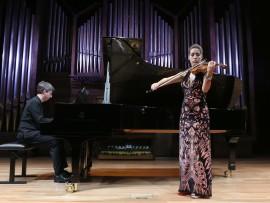 Leticia Moreno y Graham Jackson. Concierto Klee y Lily, música doméstica - El universo musical de Paul Klee , 2013