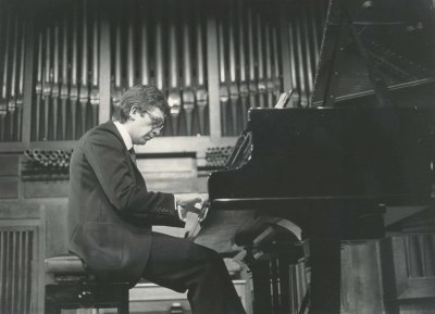 Javier Sanz. Concierto Estudios para piano
