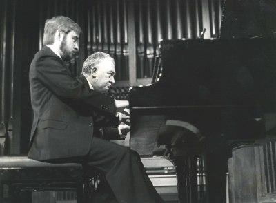 Fernando Turina y Miguel Zanetti. Concierto Piano a cuatro manos (1985)