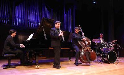Joan Enric Lluna, Juan G. Garvayo, Rafael Gálvez y Toni García. Concierto En torno a Benny Goodman - Jazz impact