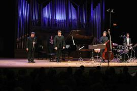 Joan Enric Lluna, Juan G. Garvayo, Rafael Gálvez y Toni García. Concierto En torno a Benny Goodman - Jazz impact , 2014