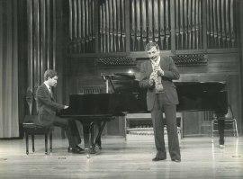 Gerardo López Laguna y Miguel Quirós. Recitales para Jóvenes, 1985