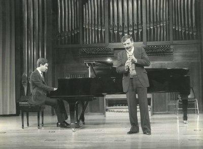 Gerardo López Laguna y Miguel Quirós. Recitales para Jóvenes
