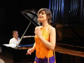 Marisa Martins y Mac McClure. Concierto El universo musical de la Generación del 14 , 2014