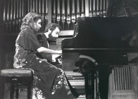Carmen Deleito y Josep Colom. Concierto Piano a cuatro manos (1985) , 1985