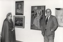 Marguerite Duthuit y Pierre Matisse. Exposición Henri Matisse Óleos, dibujos, gouaches découpées, esculturas y libros, 1980