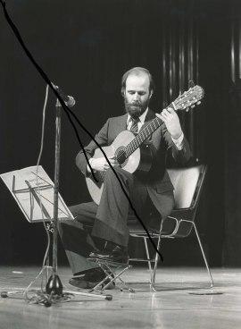 Bernardo García Huidobro. Concierto Guitarra española del siglo XIX , 1985