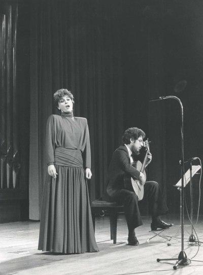 María Aragón y Gerardo Arriaga. Concierto Guitarra española del siglo XIX