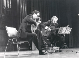 José Luis Rodrigo y Antonio Ruiz Berjano. Concierto Guitarra española del siglo XIX , 1985