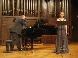Carmen Gurriarán y Kennedy Moretti. Concierto Después de Stalin: música en la URSS, 1960-1990 , 2008