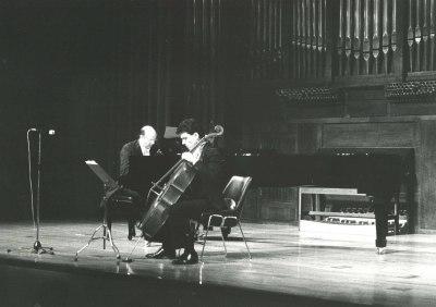 Rafael Ramos y Pedro Espinosa. Concierto El violonchelo español en el siglo XX