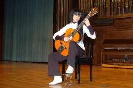 Roxana Mori. Concierto Recital de guitarra , 2005