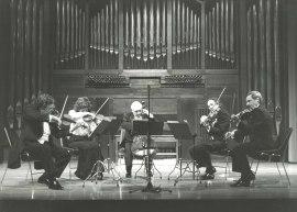Quinteto Español y Emilio Mateu. Concierto Integral de quintetos para cuerdas de Mozart , 1985