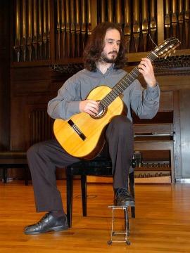 Jorge Nieto Ortiz. Concierto Recital de guitarra , 2006