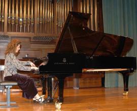 Inés Borrás. Concierto Recital de piano , 2006